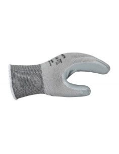 Guantes nitrilo gris Well...